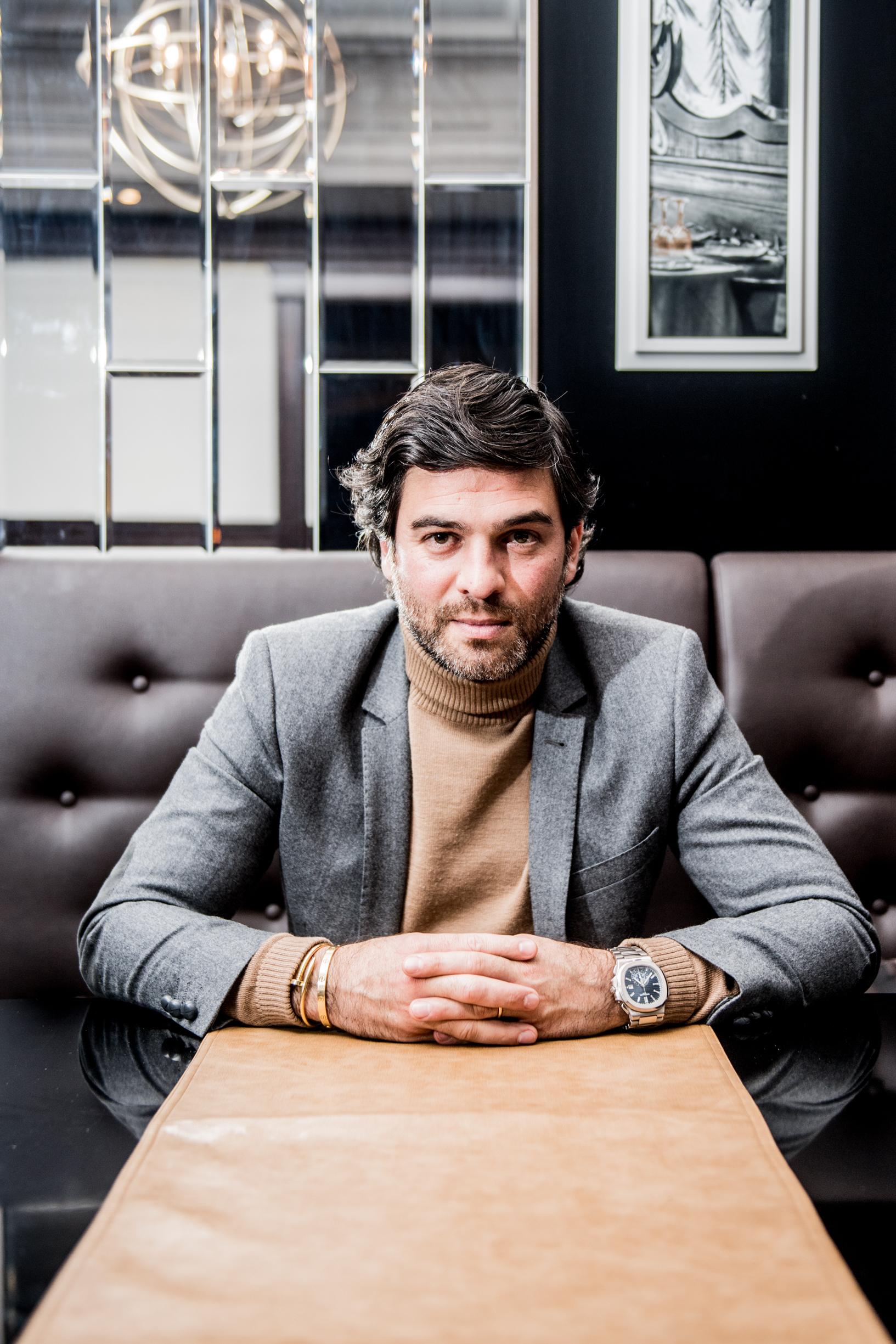 BRUXELLES, Mehdi Bayat Administrateur-delegue Du Royal Charleroi Sporting Club Membre Du Conseil D Administration De La Pro League.GOLINVAUX MATHIEU./LESOIR