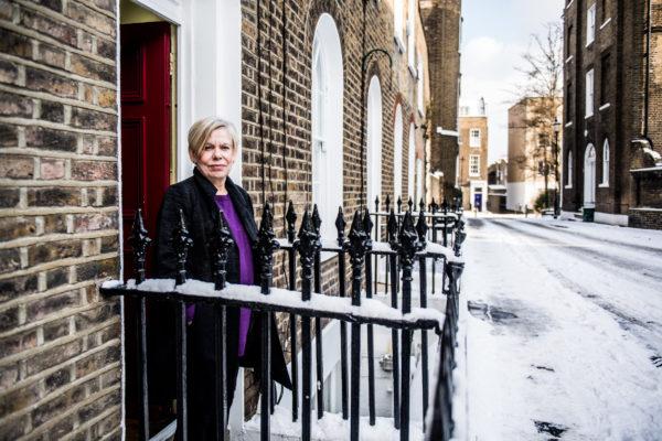 LONDRES, Portrait Karen Armstrong.GOLINVAUX MATHIEU./LESOIR