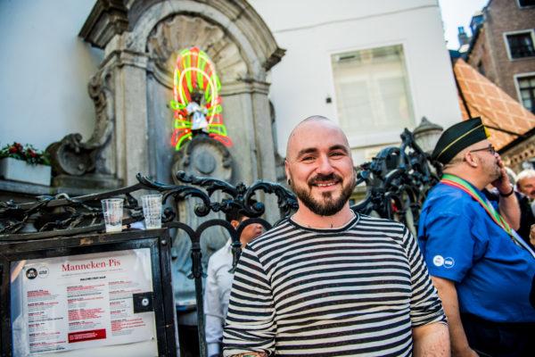 BRUXELLES, Manneken Pis 1000e Costume Tenues Garde Robe Manneken Pis Folklore Bruxelles.GOLINVAUX MATHIEU./LESOIR