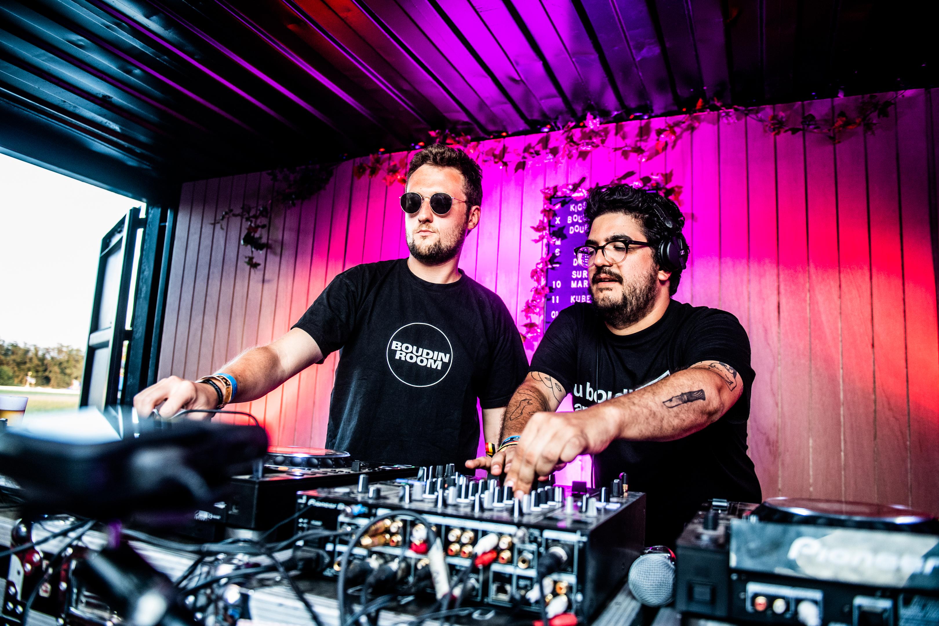 DOUR, Festival De Dour DC Salas DJ Boudin Room. GOLINVAUX MATHIEU./LESOIR