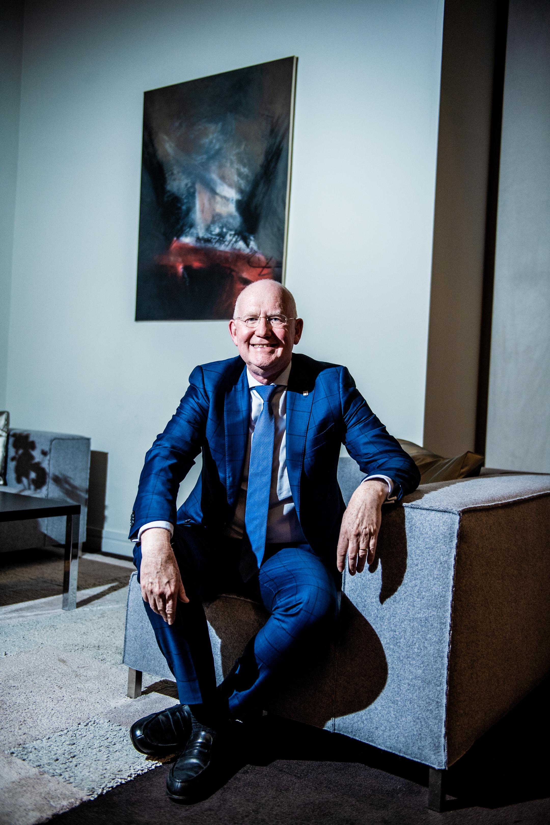 BRUXELLES, Portrait Max Jadot Administrateur Directeur General Et President Du Comite De Direction De BNP Paribas Fortis.GOLINVAUX MATHIEU./LESOIR