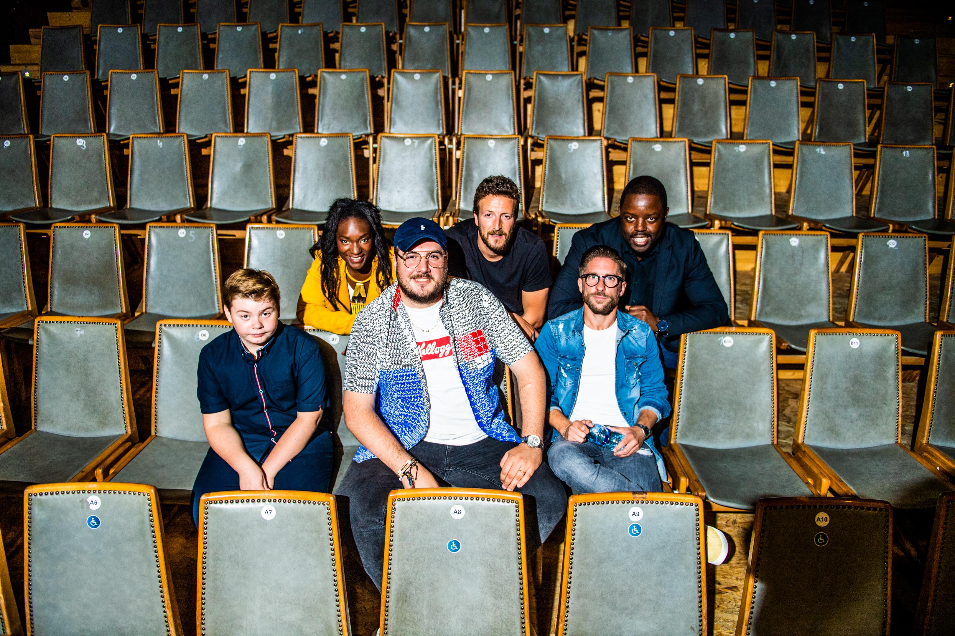 CHARLEROI, Stand Up Humour Spectacle Les Mercredis Du Rire La Ruche Theatre.GOLINVAUX MATHIEU./LESOIR