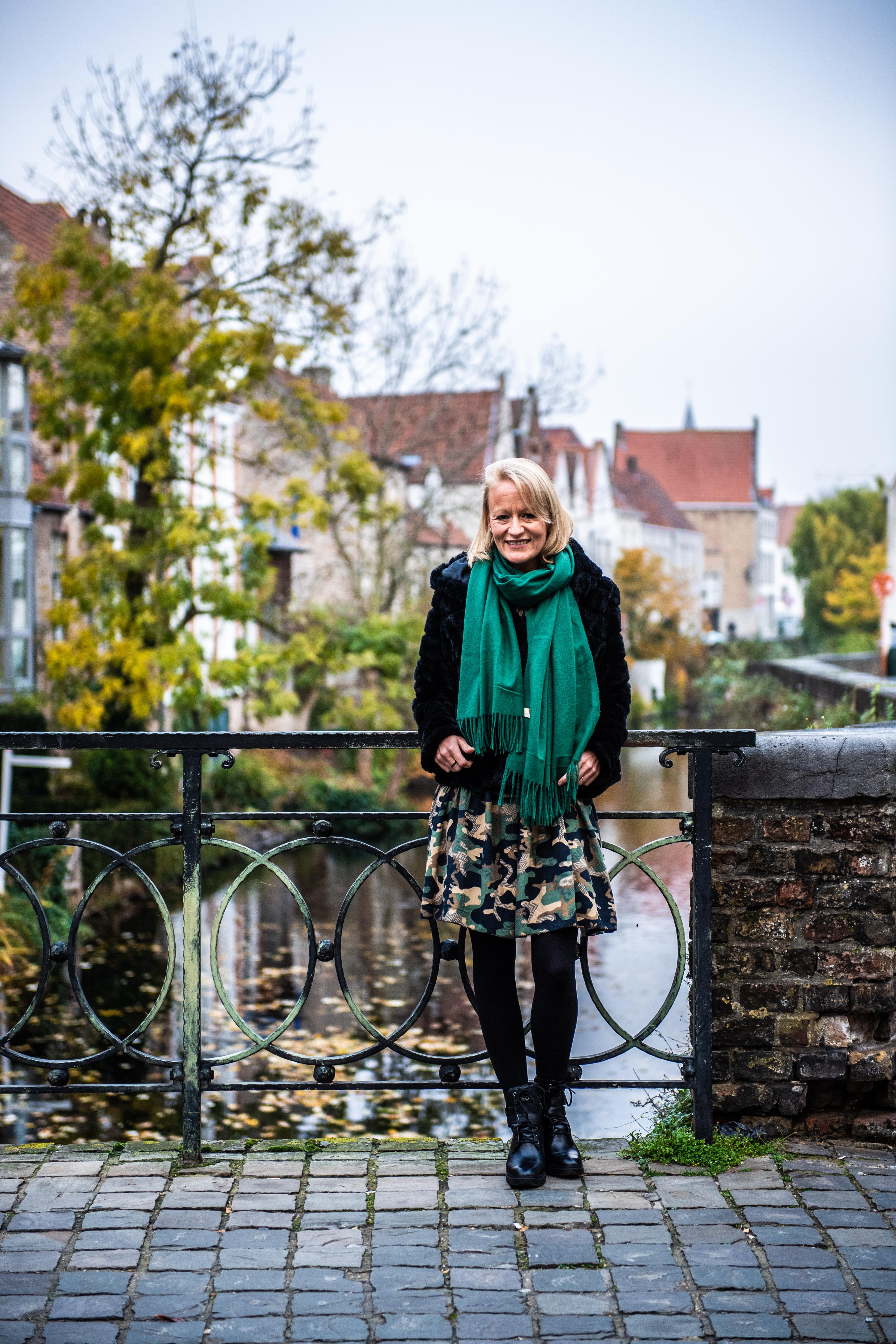 BRUXELLES,  Julie Bocquet La Fille Cachee De Claude François.GOLINVAUX MATHIEU./SOIRMAG