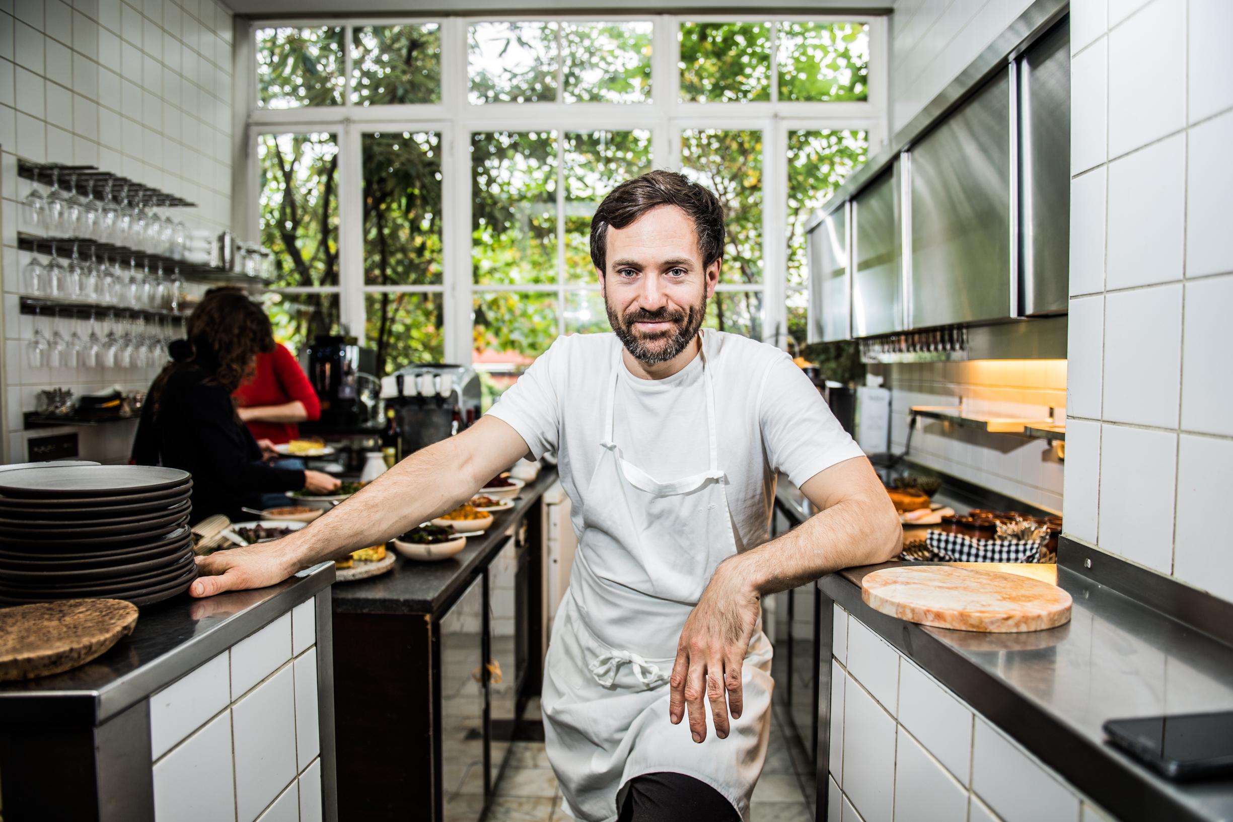 UCCLE,  Restaurant Bouchery Damien Bouchery et Benedicte Bantuelle.GOLINVAUX MATHIEU./LESOIR