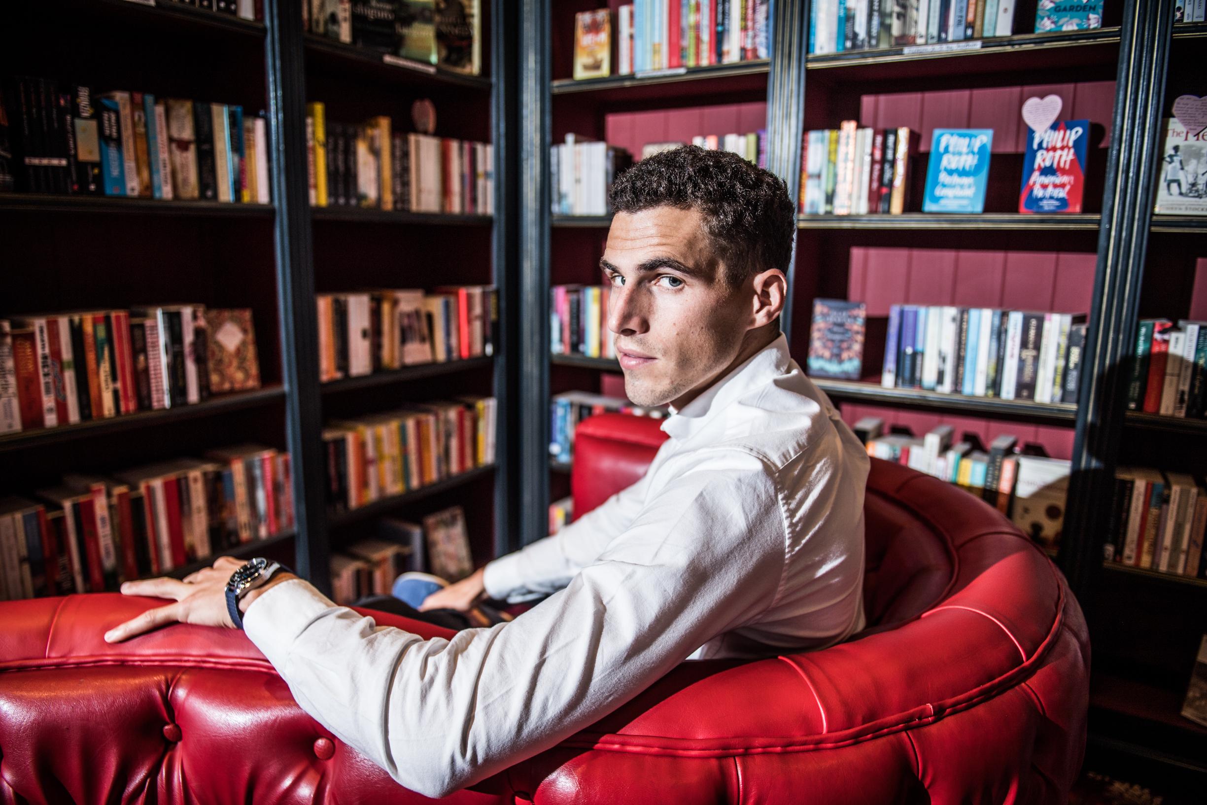 BRUXELLES, Athletisme Portrait Kevin Borlee.GOLINVAUX MATHIEU./LESOIR