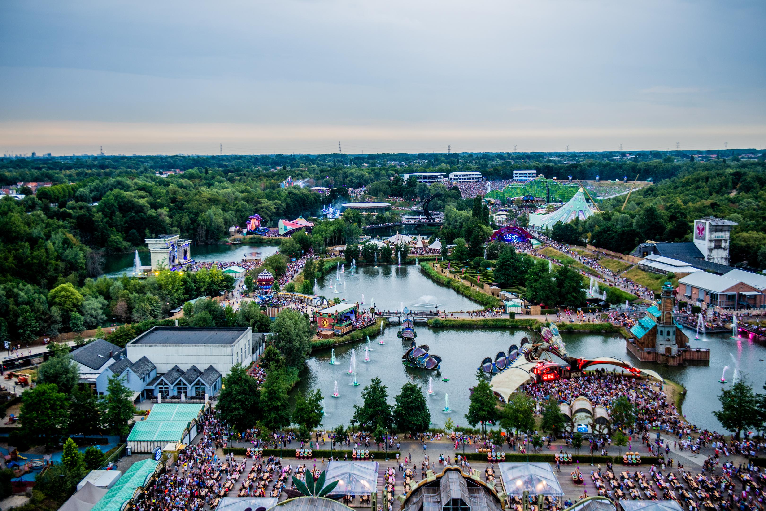 BOOM, Festival Tomorrowland Ambiance.GOLINVAUX MATHIEU./LESOIR