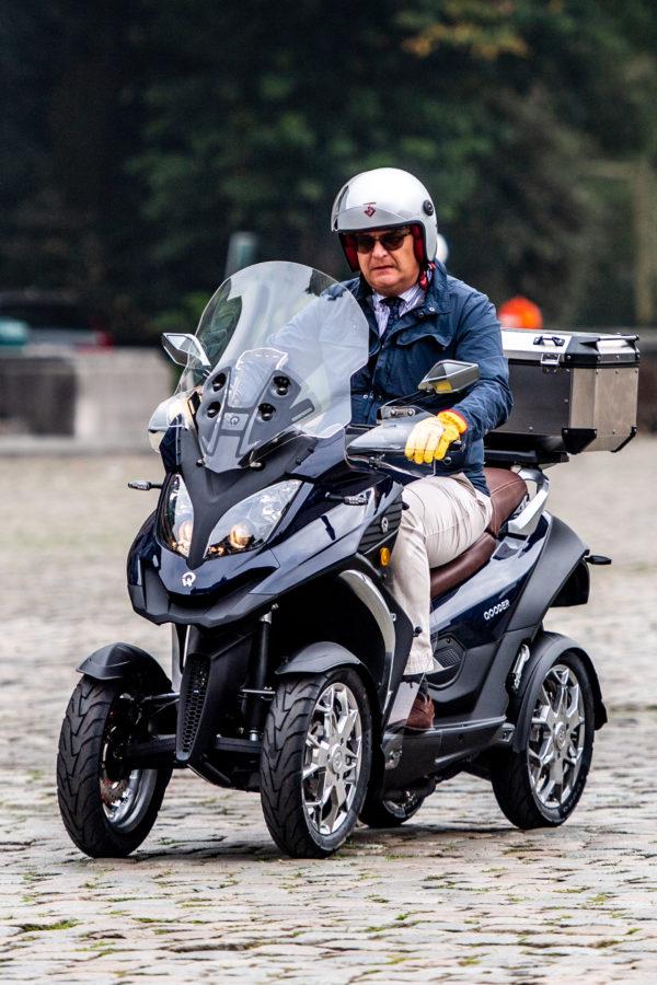 Prince Laurent – Our Wheel Motor Bike