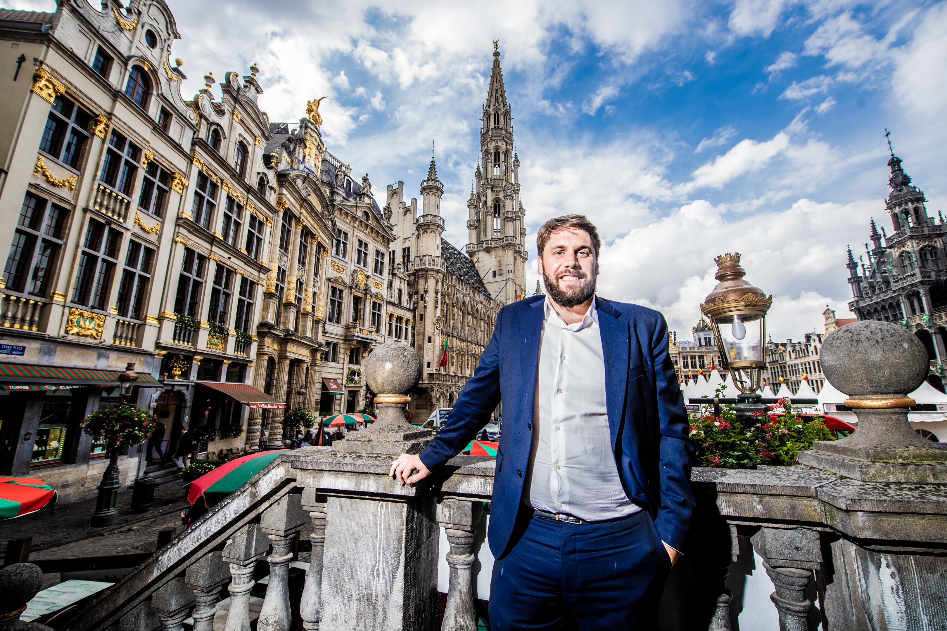 BRUXELLES, Portrait Fabian Maingain Membre De DeFI.GOLINVAUX MATHIEU./LESOIR