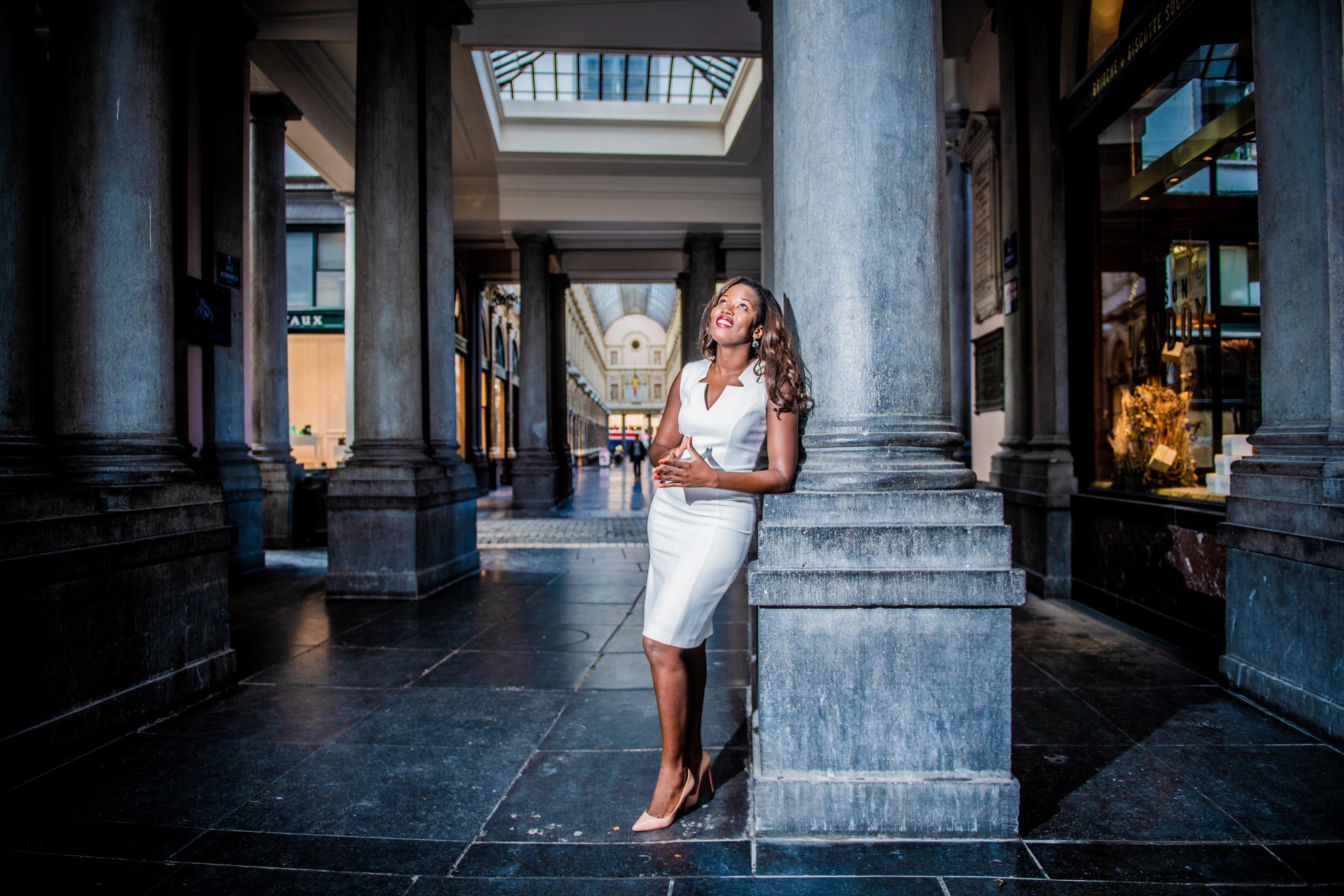 BRUXELLES, Portrait Assita Kanko Auteure  Elue A Ixelles Et Creatrice De Incubateur #Polin.GOLINVAUX MATHIEU./LESOIR