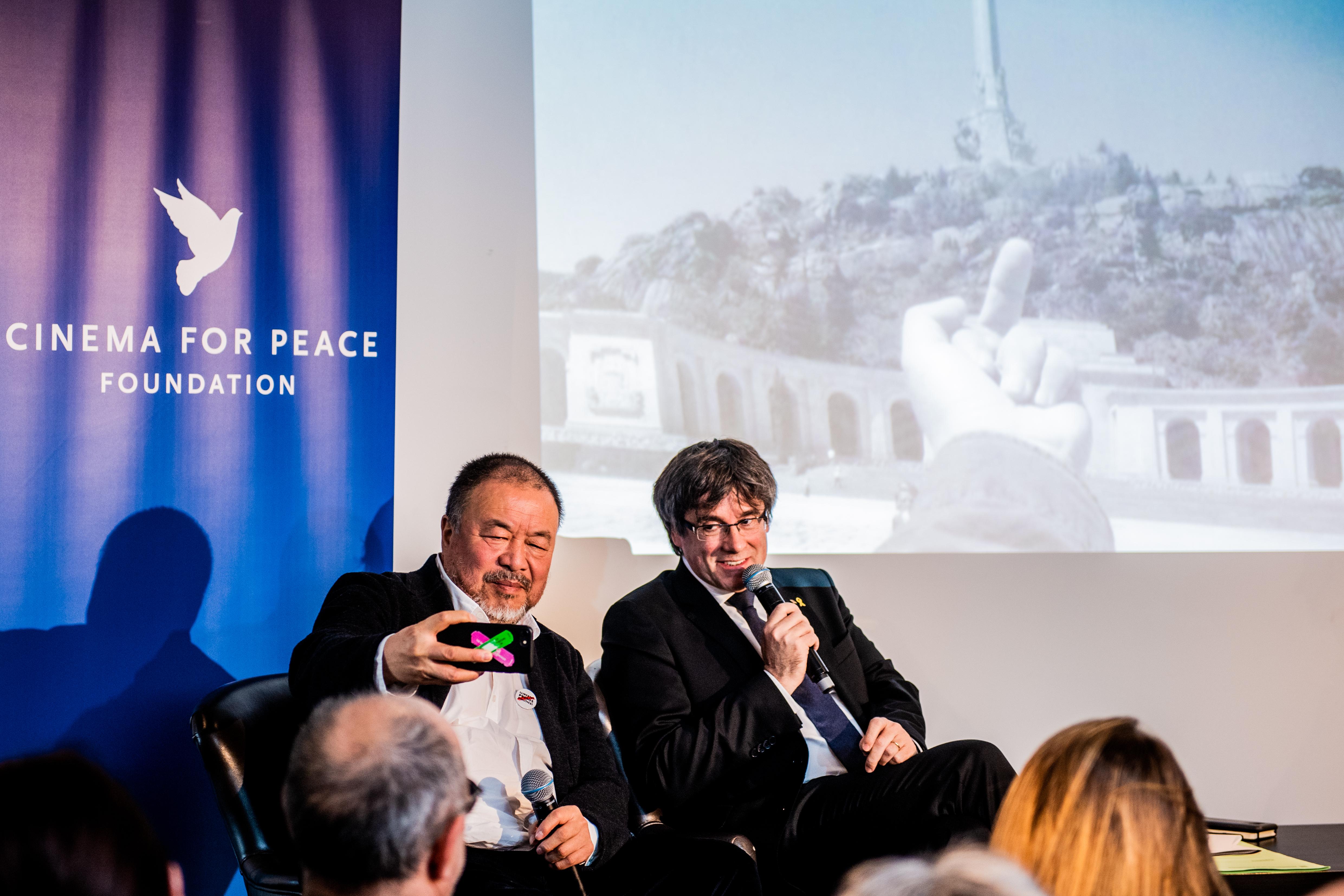 Ai Weiwei – Puigdemont – Democracy Or Tyranny