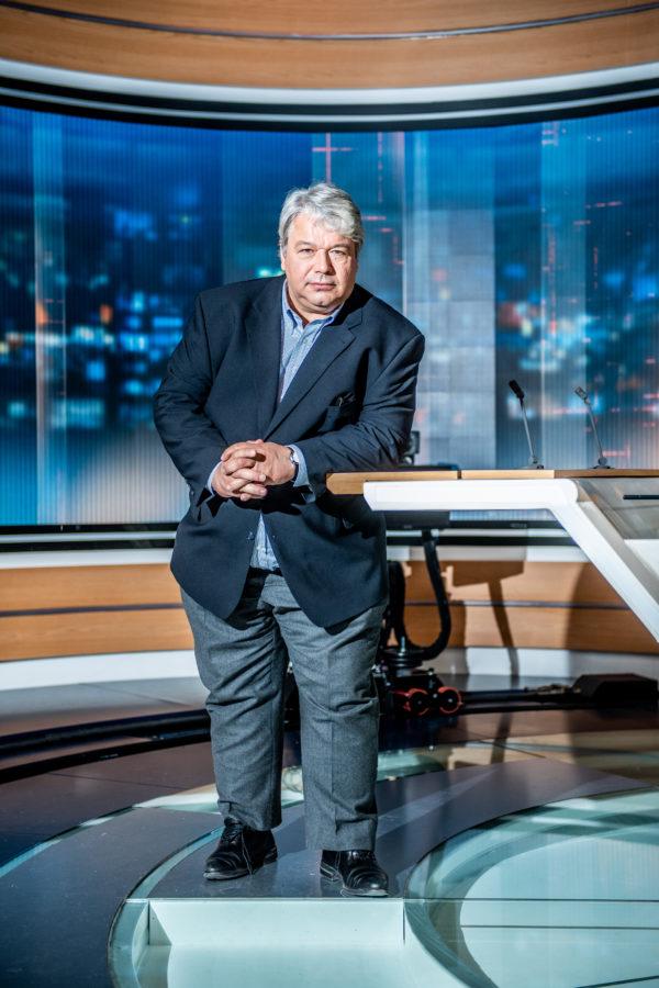 BRUXELLES,  Portrait Christophe Giltay Journaliste RTL.GOLINVAUX MATHIEU./SOIRMAG